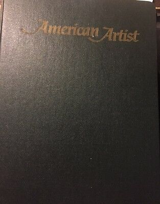 American Artist Magazine Collection 14 issues 1970-1971