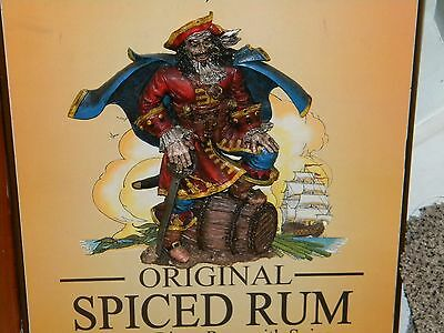 Captain Morgan Original Spiced Rum~ sign/display with Raised Image