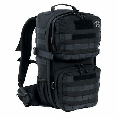 Tasmanian Tiger TT Combat Pack MKII Black Tactical Combat Backpack Army Molle