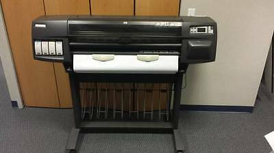 """HP DesignJet 1055cm 36"""" Large Wide Format Engineering Printer Posters Banners"""