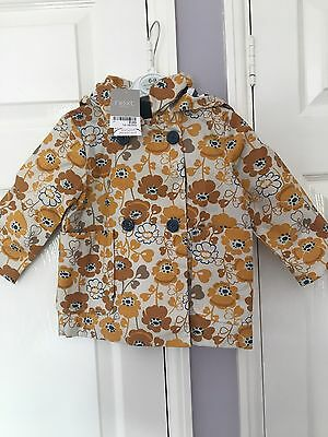 next girls jacket 12-18 months Brand New