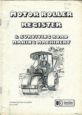 Motor Roller Register & Surviving Road Making Machinery