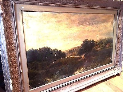 OIL PAINTING LARGE 18th /early 19th Century(Needs Minor restoration Work) canvas