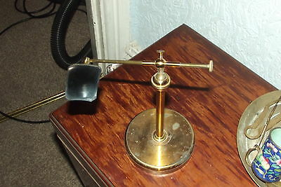 antique brass microscope  light Condenser  or something like that ???