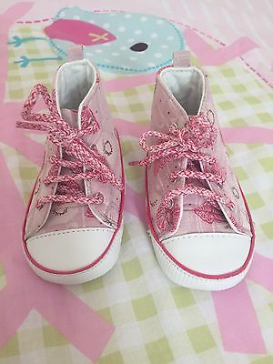 Baby Girls Pre Walker Shoes Trainers F&F 12-18 Months