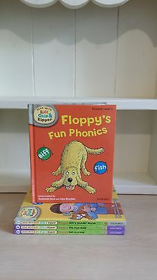 Collection of 4 x Read With Biff, Chip and Kipper Childrens Books