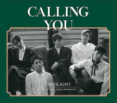 HIGHLIGHT - CALLING YOU (1st Mini Album Repackage), CD+Booklet+Photocard+Poster