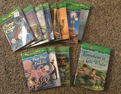 Lot of 12 Magic Tree House Merlin Mission Books 29-36 & 39-41 &43