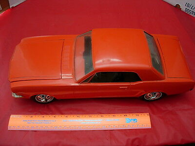 Rare Large 1966 Ford Mustang Dealer Promo Model Car With Electric Motor!