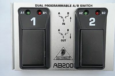 Behringer Dual Programmable A/B Switch AB200