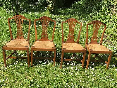 Set Of 4 Antique 18th Century Chairs