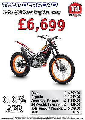 Montesa Mrt260 Factory Repsol Cota 4Rt Race Replica 0% Finance Option Available