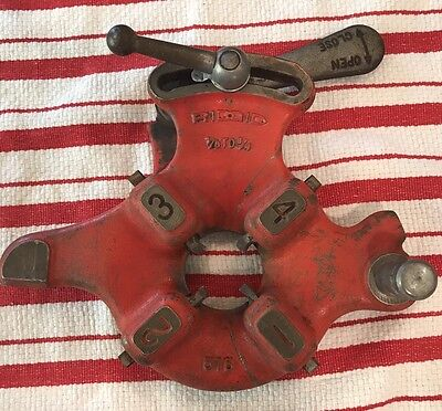 RIDGID Pipe Threader 515 1/8 - 3/4 With Dies 1/2 - 3/4