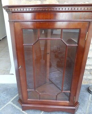 Period Corner Cabinet Wall Mounted