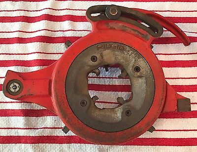 "RIDGID Pipe Threader Die Head Universal 711? 1/8 - 2"" With Dies"