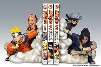 Naruto Team 7 Bookends Resin Statue Number 37 Of 2000 - Sealed- Low Ed. No.