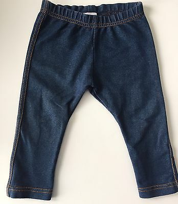 Boots Mini Club Baby Girls Navy Blue Jeggings ( Size : 9 - 12 Months )