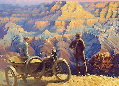"Direct from the Artist-""America the Beautiful"" ltd edtn paper print by David Uhl"