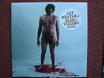 """Jay Reatard - Blood Visions Red vinyl LP + 7"""" Record Store Day 2016 New Sealed"""