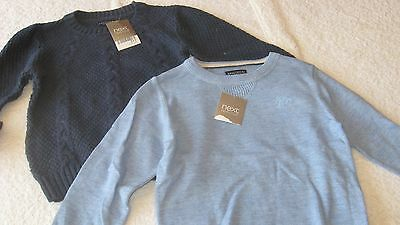 18-24 months 2pc JUMPER BUNDLE BNWT New 100% Next Knitted Top Tops Toddler Boys