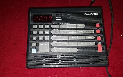 GraLab Model 900 Programmable Electronic Timer Used Tested