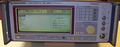 Good working Rohde & Schwarz Model SMT-03 5KHz - 3GHz Signal Generator 15dBm!