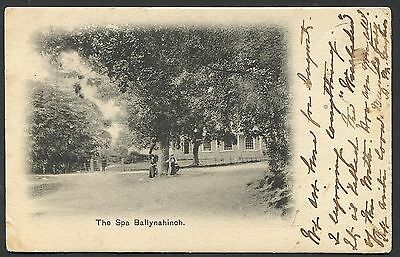 Co DOWN - BALLYNAHINCH SPA - EARLY POSTCARD POSTED 1904