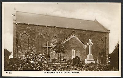 Co TYRONE - AUGHER - RP POSTCARD - ST MACARTENS RC CHAPEL - UNKNOWN PUB. M.258