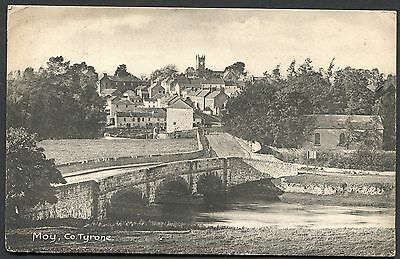 Co TYRONE - MOY - ORIGINAL VINTAGE POSTCARD POSTED IN 1917