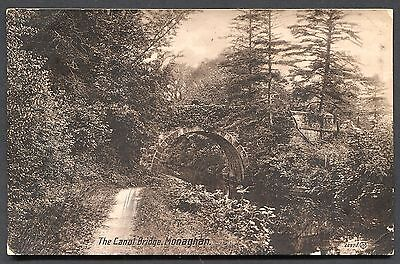 Co. MONAGHAN - RP POSTCARD - THE CANAL BRIDGE MONAGHAN - POSTED 1913