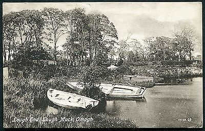 Co TYRONE - OMAGH, LOUGH MUCK - VINTAGE PCARD POSTED 1922 - JOHNSTON BROs, OMAGH