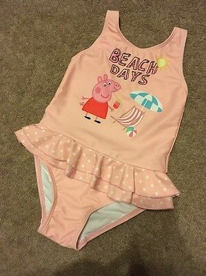 Girls Peppa Pig Swimsuit. 1.5-2 Years. 18-24 Months. Next ��