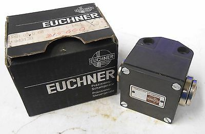 Euchner Limit Switch, Sn 03 D 08-552 C 1401