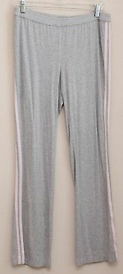 A Pea in the Pod Size Large L Maternity Lounge Sleep Pants Pajamas Gray Pink