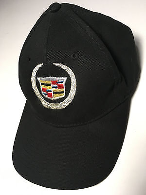 Cadillac Logo Hat - Baseball Cap - Embroidered Logo - One-Size - Hot Rods Plus