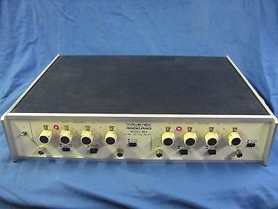 Wavetek Rockland Model 852 Dual HI/LO Filter
