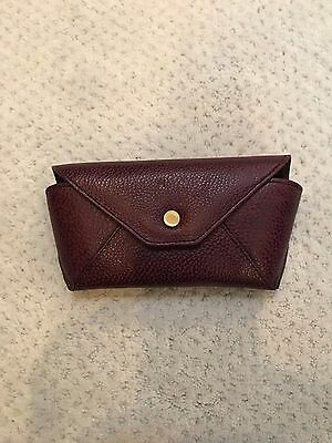 Brahmin Leather sunglass, eyeglass case NEW