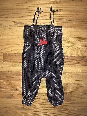 Infant Girls Baby Gap Romper Size 6-12 Months