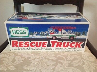 1994 Hess Rescue Truck-New In Box
