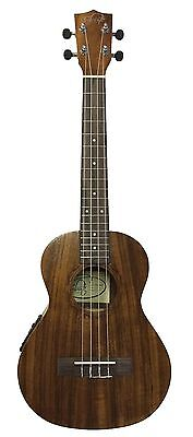 Tribute UK5EQ Electric Acoustic Tenor Ukulele built in pickup Factory Second