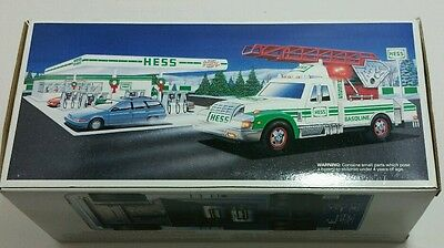Hess 1994 Rescue Truck New in Box Mint Condition Unopened Collectible Gasoline