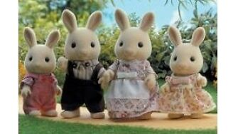 Sylvanian Families Milk Rabbit Family, Another Family for Your Collection