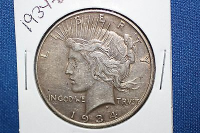 1934-D Peace Silver Dollar ~ BETTER DATE