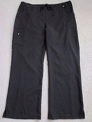 Black DICKIES Cargo Style Medical Scrub Pants - Size 2XL
