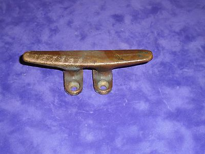 Vintage Brass/Bronze Cleat Ship Boat Dock Cleat - SOLID Bronze Boat Cleat