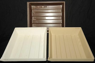 Lot of (3) 8x10 Darkroom Paper Developing Trays, Photo, Printing, Enlargers, Set