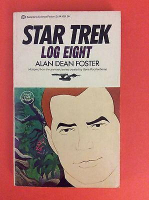 Star Trek Log Eight By Alan Dean Foster Paperback 1976 1st Edition Ballantine