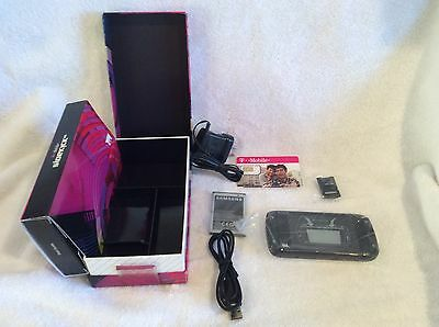 Samsung T839 Sidekick 4G Pearl Magenta Kit  battery&charger USB cable  SIM Card