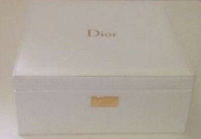 Christian DIOR Beauty White Jewellery Home Decor Box