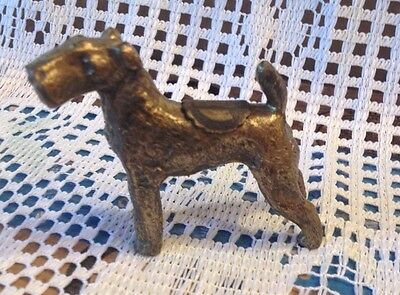Vintage Airedale Terrier Souvenir - Singing Tower